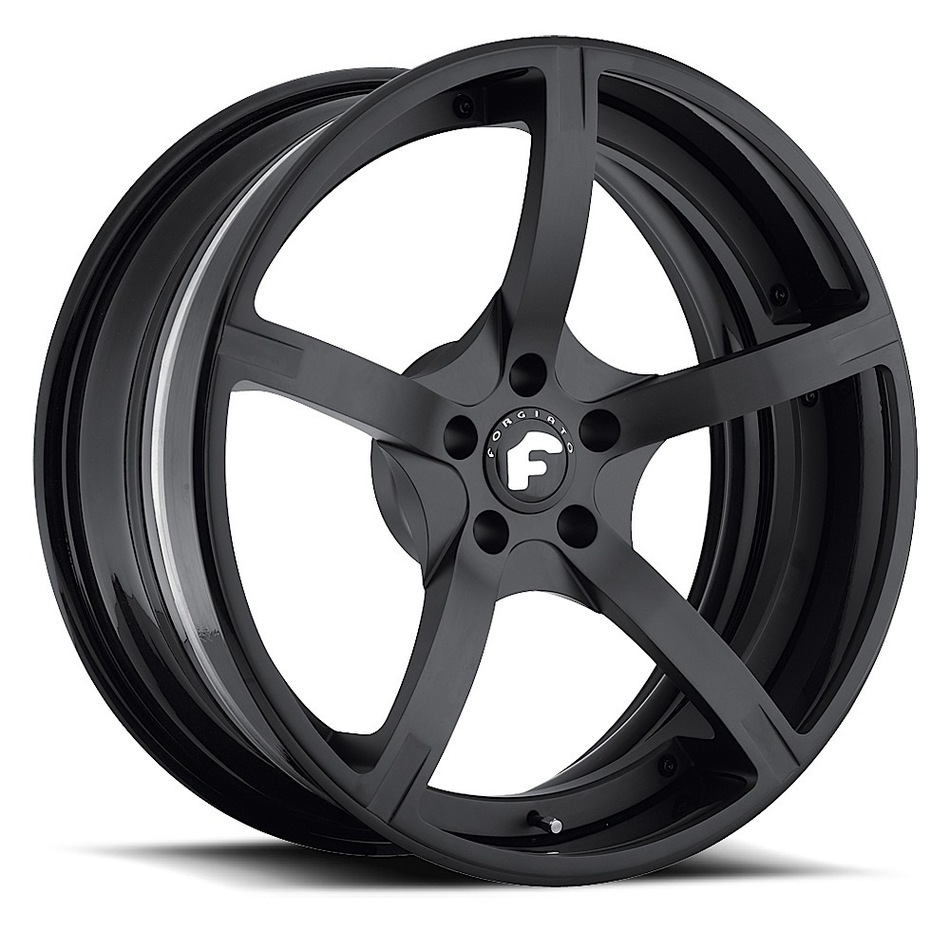 Forgiato Doppio-ECL Black Finish Wheels