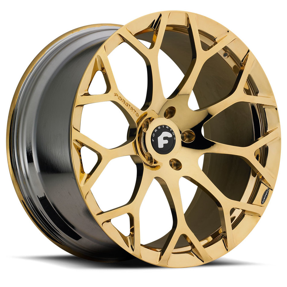 Forgiato Drea-M Gold Finish Wheels