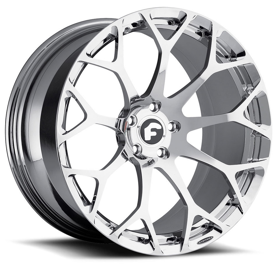 Forgiato Drea-M Chrome Finish Wheels