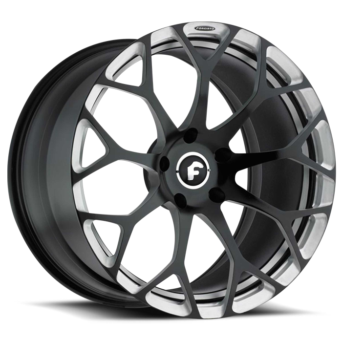 Forgiato Drea-M Black and Satin Finish Wheels