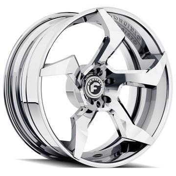Forgiato Elica-ECX Chrome Finish Wheels