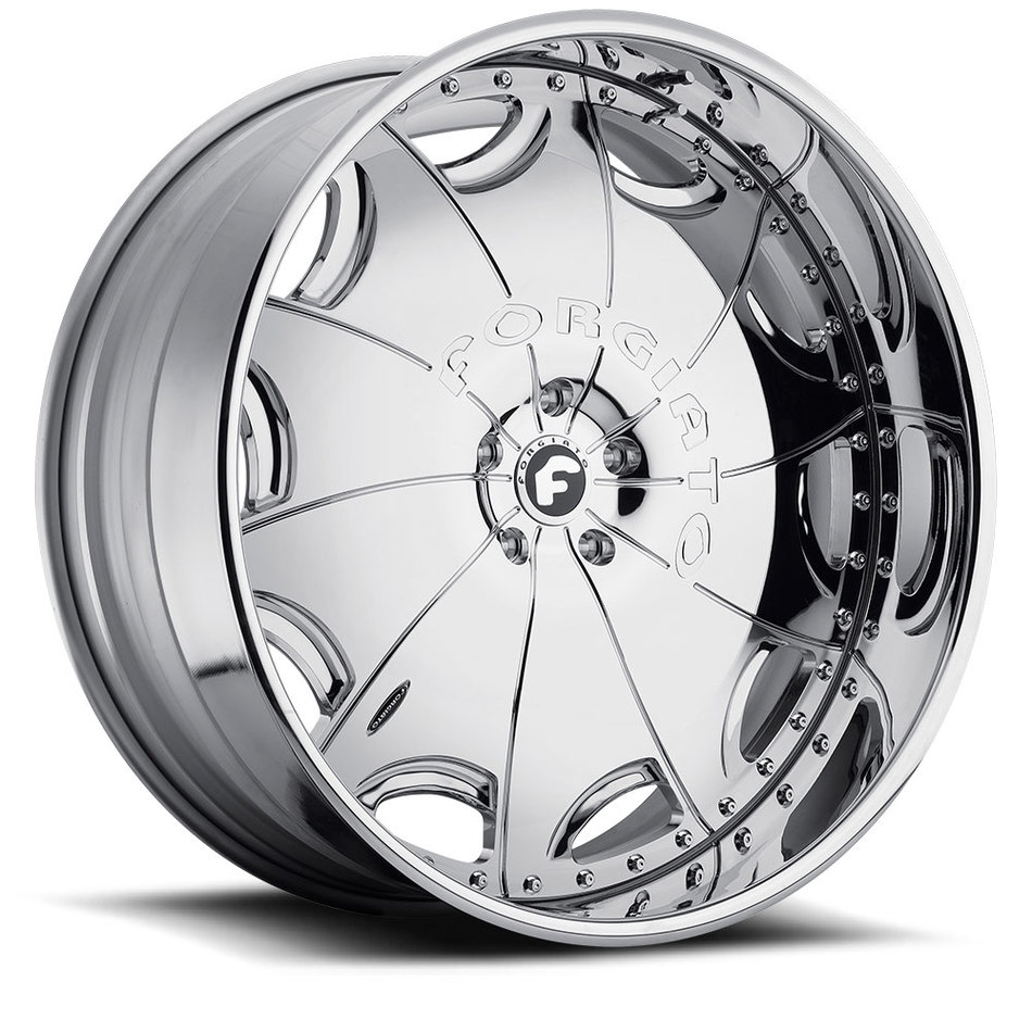 Forgiato Emilano-L Chrome Finish Wheels
