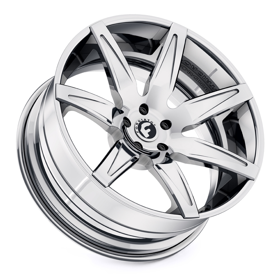 Forgiato Esporre-ECL Chrome Finish Wheels