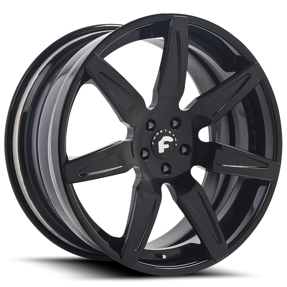Forgiato Esporre-ECL Black Finish Wheels