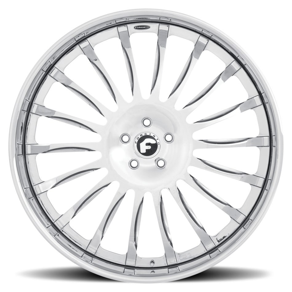 Forgiato Espoto Chrome Finish Wheels