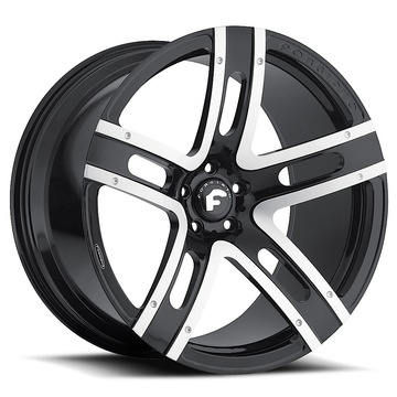Forgiato Estremo-M Black and Satin Finish Wheels