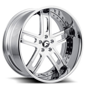 Forgiato Estremo Chrome Finish Wheels