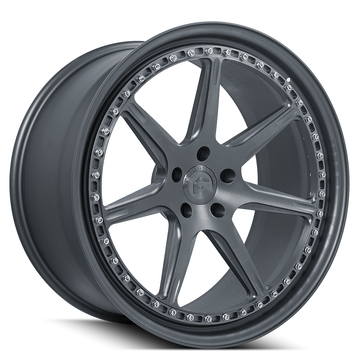 Forgiato F-2.06 Anodized Grey Finish Wheels