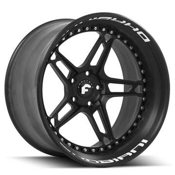 Forgiato F-430 Black Finish Wheels