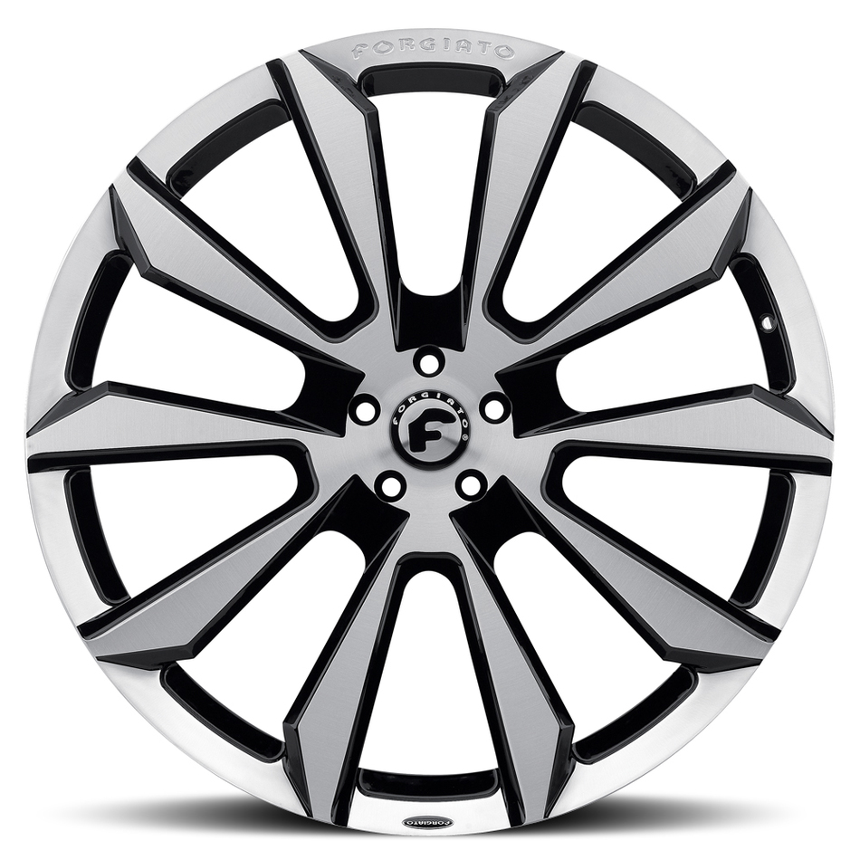 Forgiato F2-04-M Satin and Black Finish Wheels