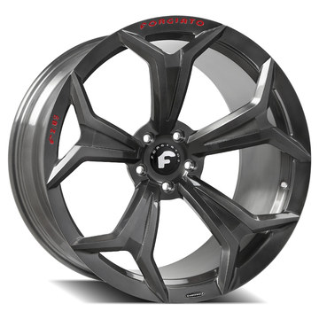 Forgiato F2-09-M Smoked Grey Finish Wheels