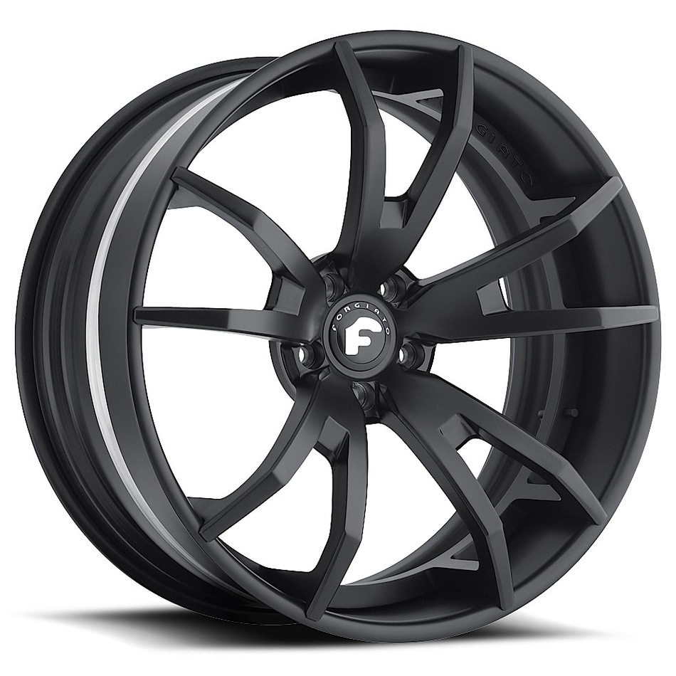 Forgiato F2.01 Black Finish Wheels