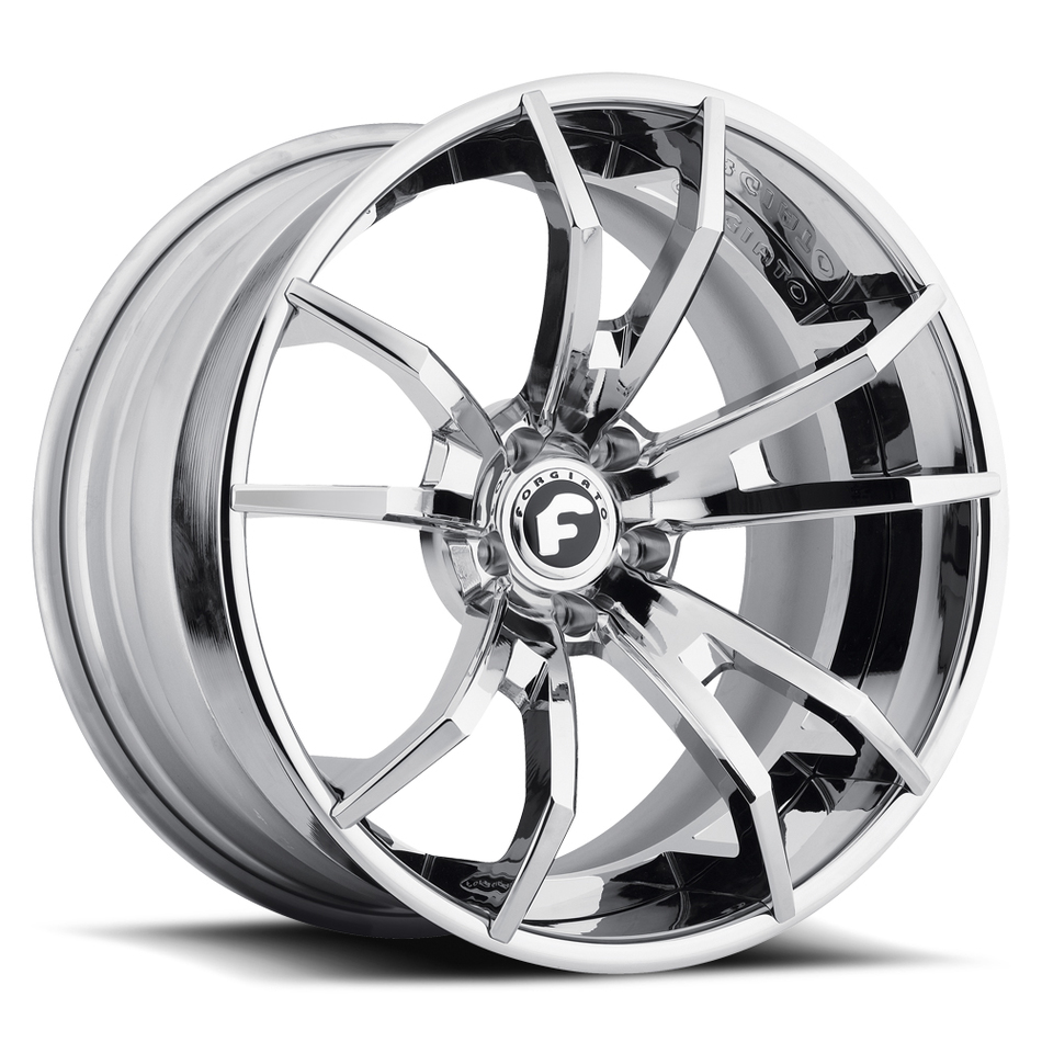 Forgiato F2.01 Chrome Finish Wheels