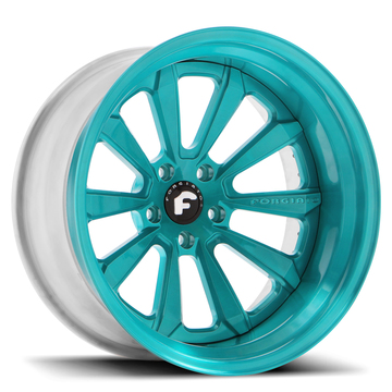 Forgiato F2.04-C Turquoise Finish Wheels