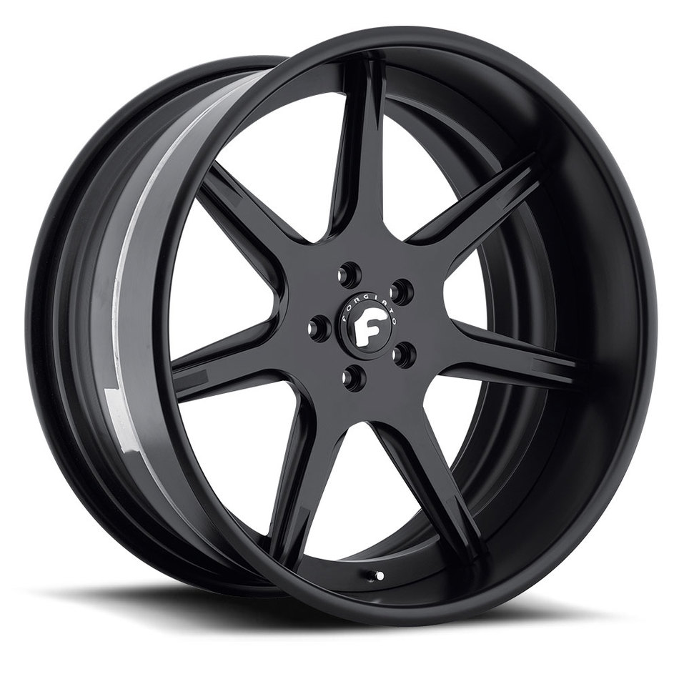 Forgiato F2.06-B Black Finish Wheels