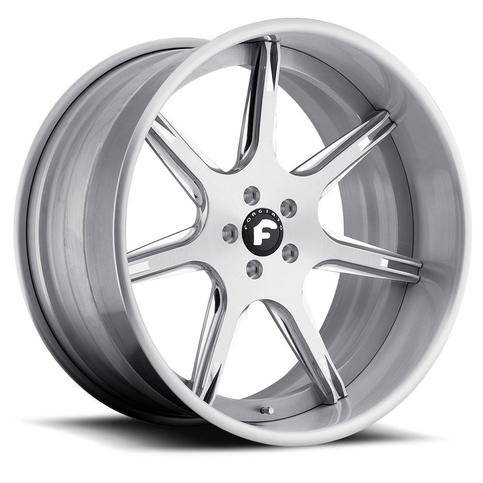 Forgiato F2.06-B Brushed Finish Wheels