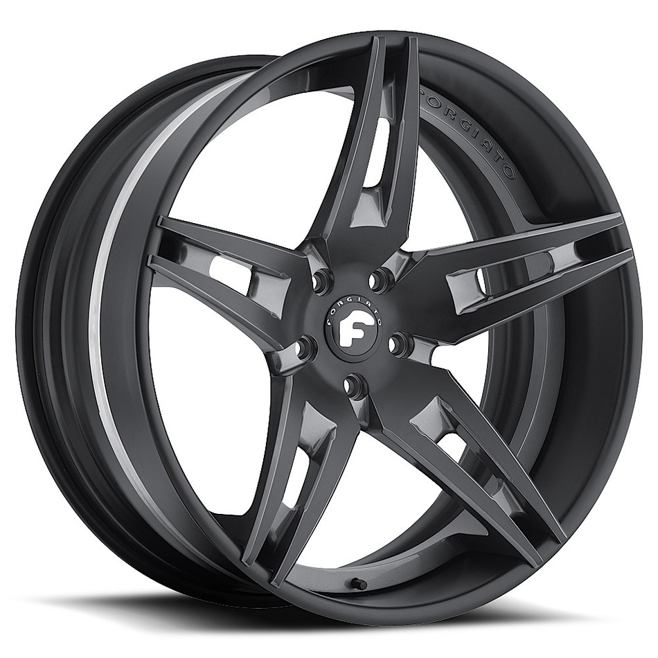 Forgiato F2.10 Black Finish Wheels