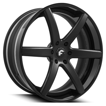 Forgiato F2.20 Black Finish Wheels
