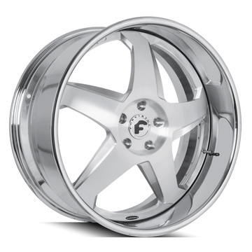 Forgiato F2.21 Brushed and Chrome Finish Wheels