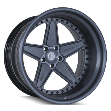 Forgiato FV1 Anodized Gray Finish Wheels