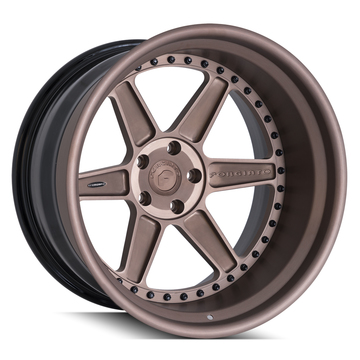 Forgiato FV2 Anodized Brown Finish Wheels