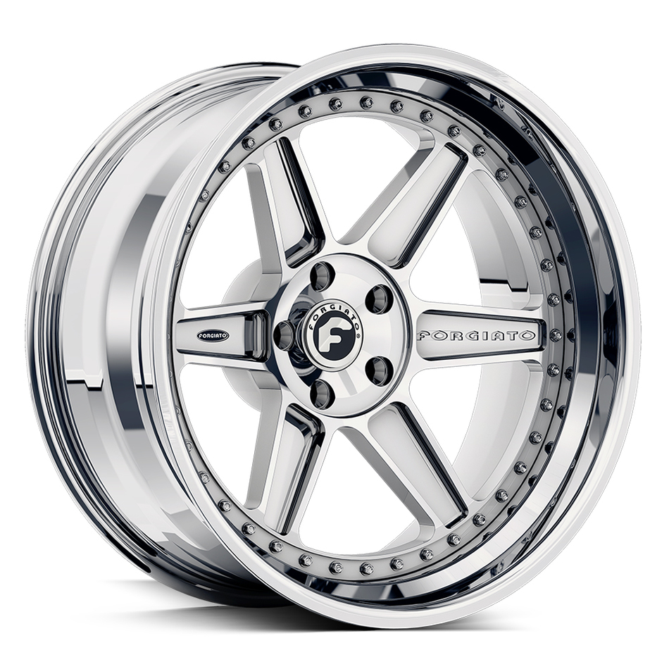 Forgiato FV2 Chrome Finish Wheels