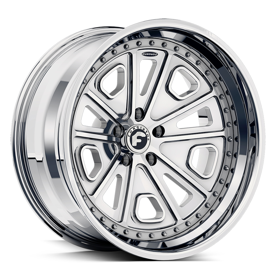 Forgiato FV3 Chrome Finish Wheels