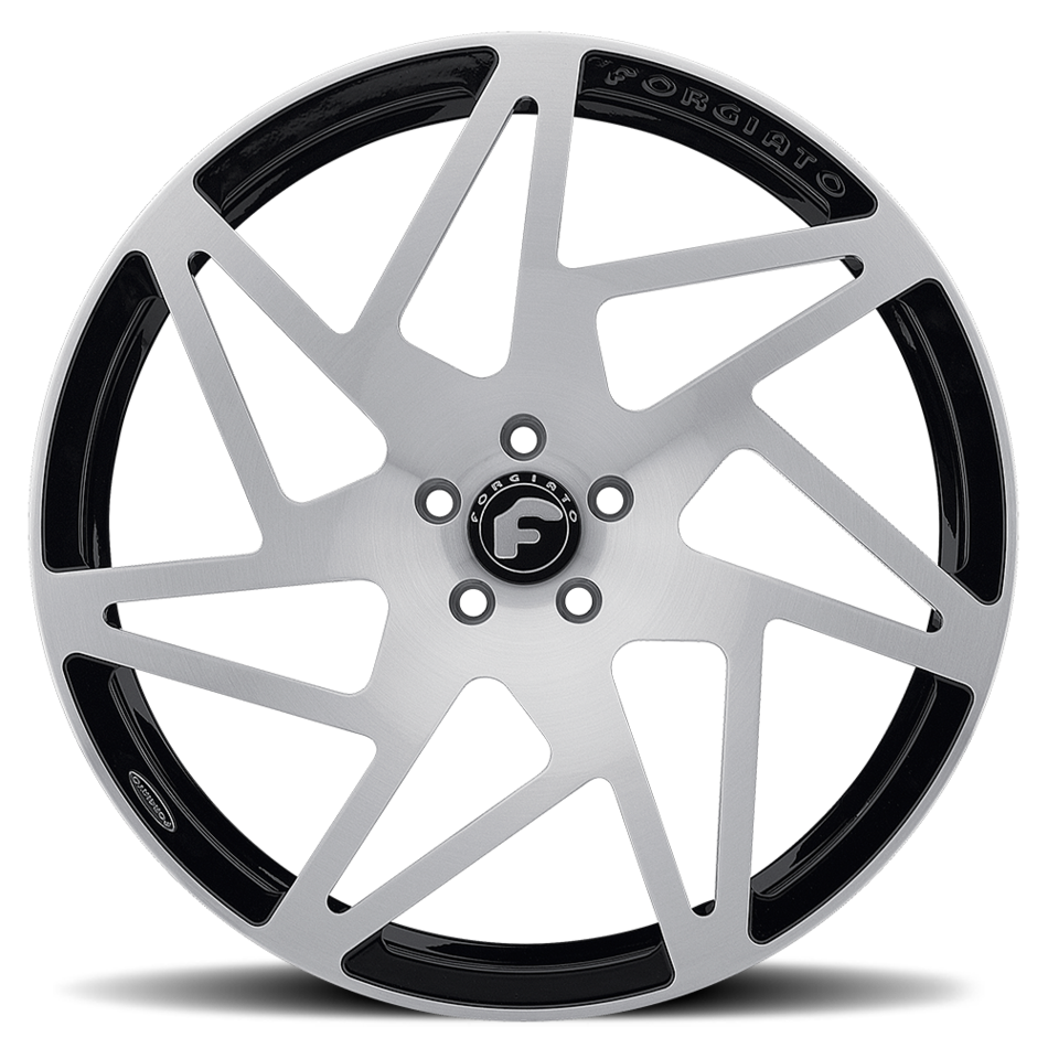 Forgiato Finestro-M Satin and Black Finish Wheels