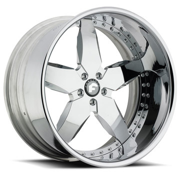 Forgiato Fiocco Chrome Finish Wheels