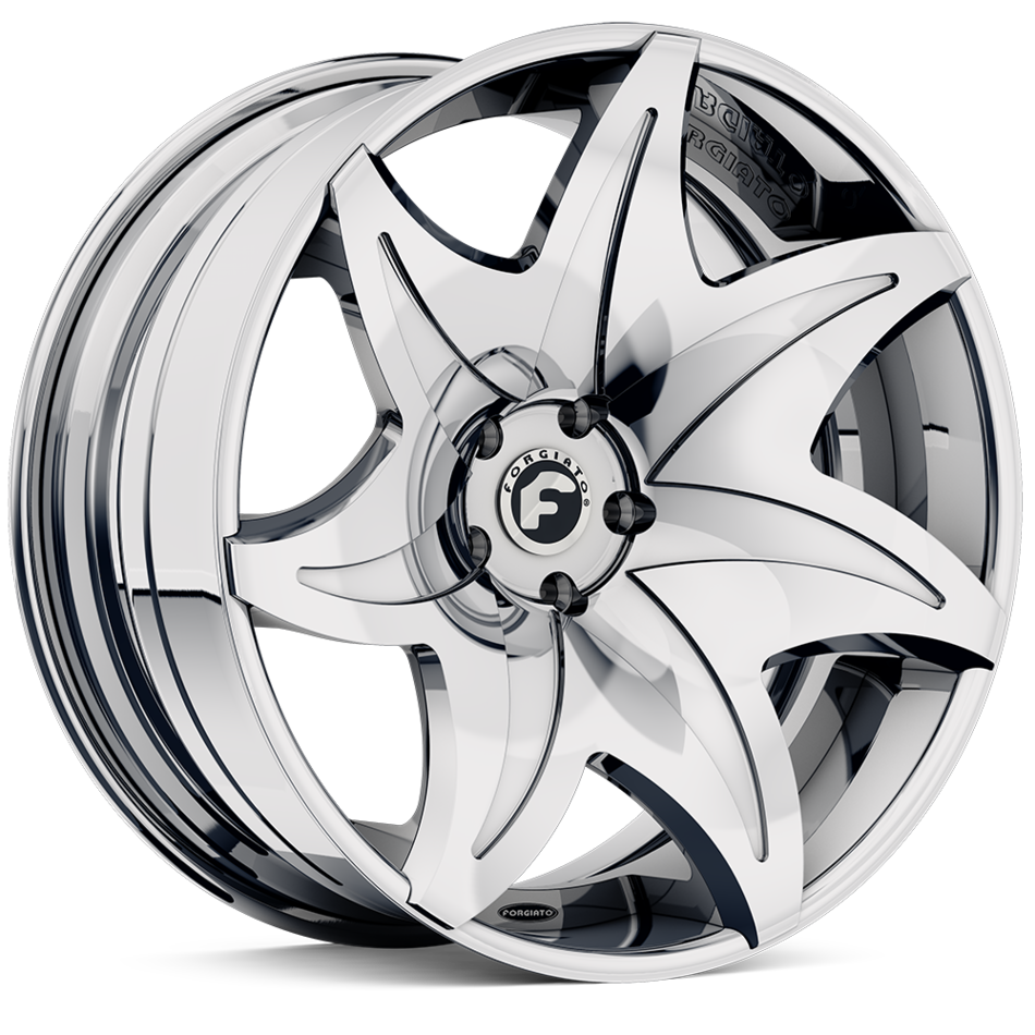 Forgiato Fiorito-ECL Chrome Finish Wheels