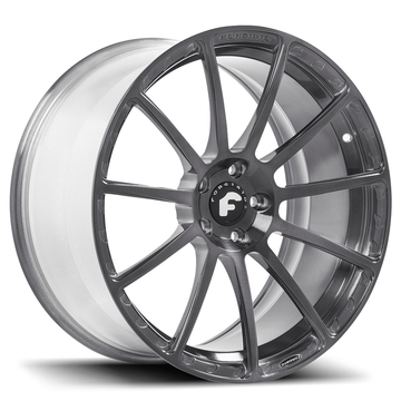 Forgiato Flangiato-M Grey Finish Wheels