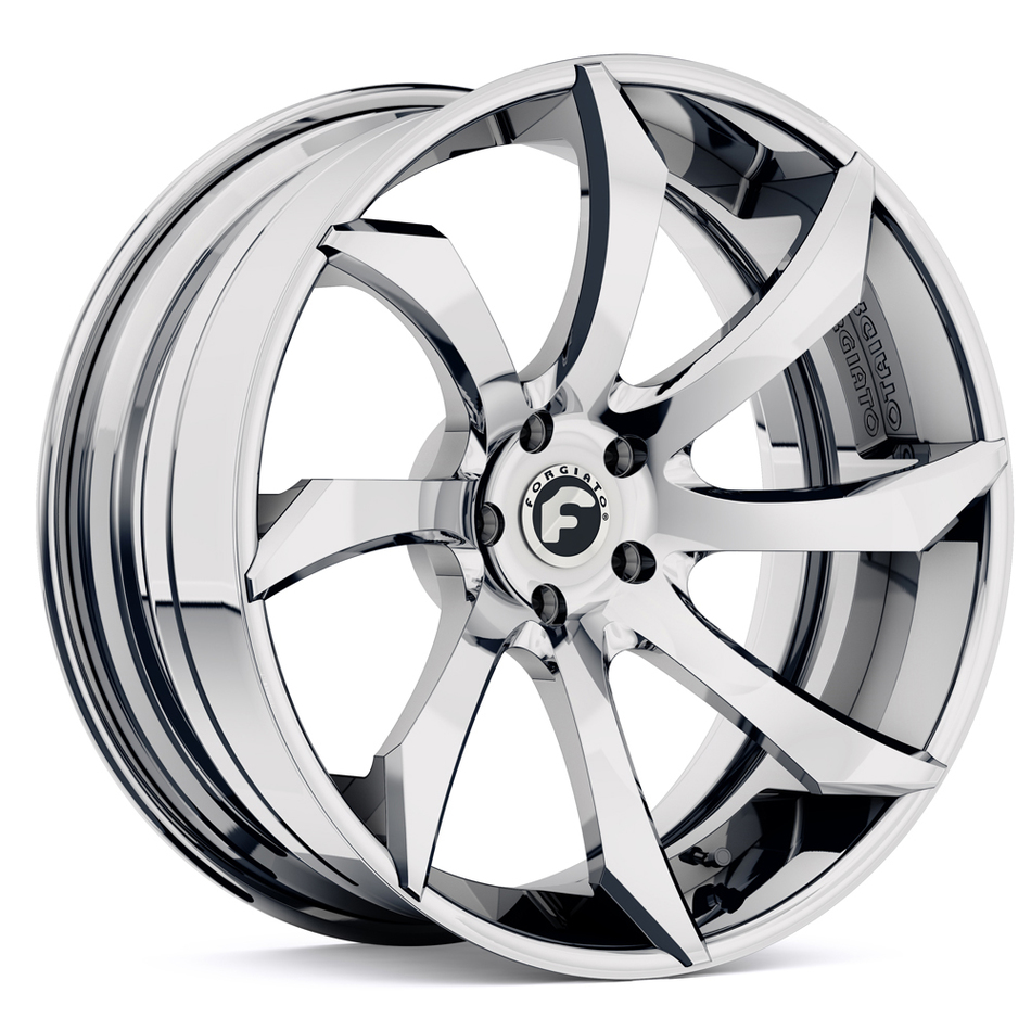 Forgiato Fondare-ECL Chrome Finish Wheels