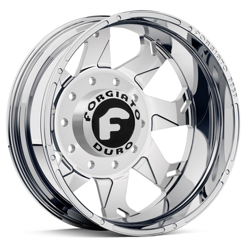 Forgiato Forata Dually Chrome Finish Wheels