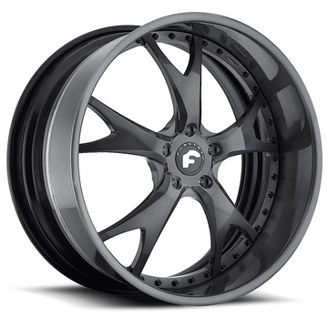 Forgiato Forcella Black Finish Wheels