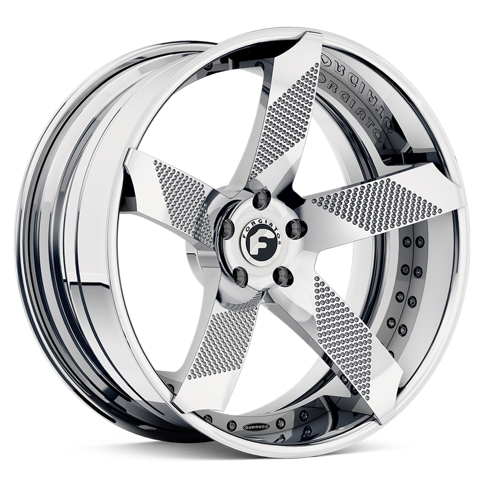 Forgiato Fossete-ECL Chrome Finish Wheels