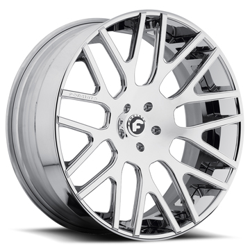 Forgiato Freddo-ECL Chrome Finish Wheels