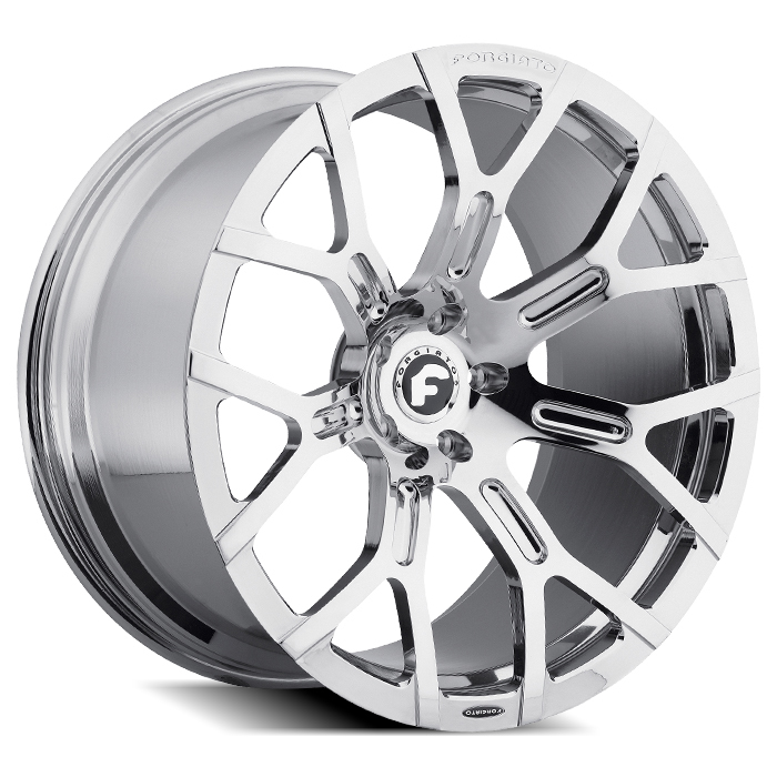 Forgiato GTR-M Chrome Finish Wheels