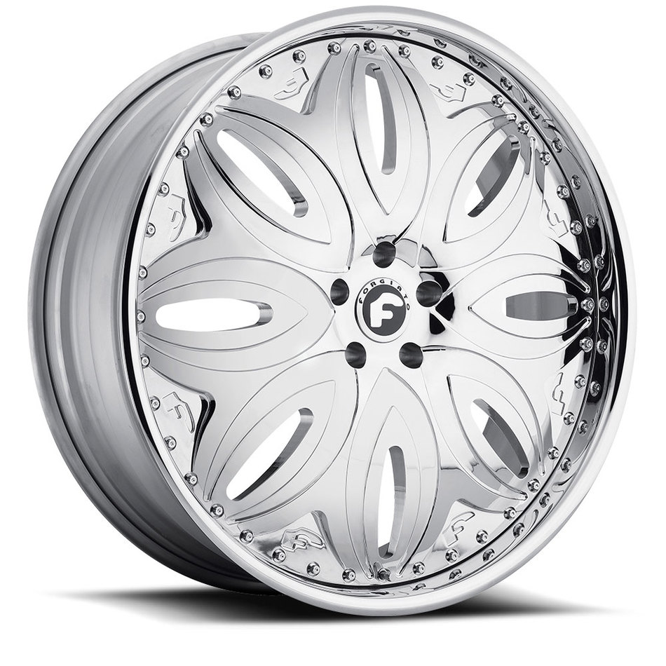 Forgiato Giordano-L Chrome Finish Wheels
