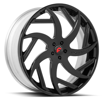 Forgiato Girare-ECL Black Finish Wheels