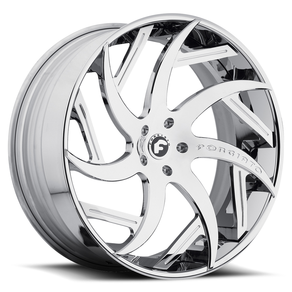 Forgiato Girare-ECL Chrome Finish Wheels
