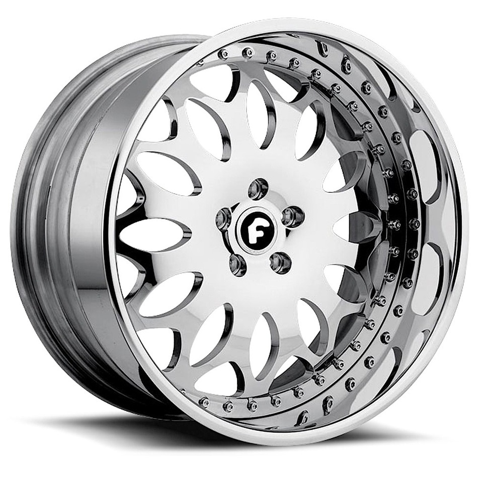 Forgiato Grano Chrome Finish Wheels