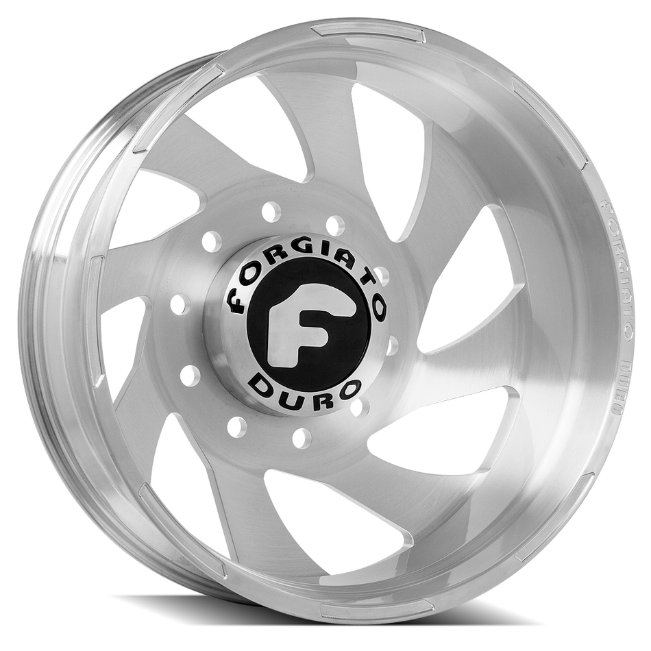 Forgiato Indurire Dually Brushed Finish Wheels
