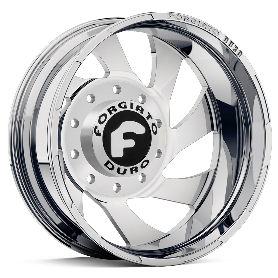 Forgiato Indurire Dually Chrome Finish Wheels