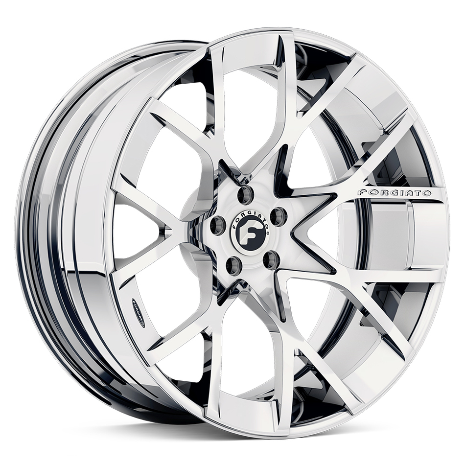 Forgiato Insetto-ECL Chrome Finish Wheels