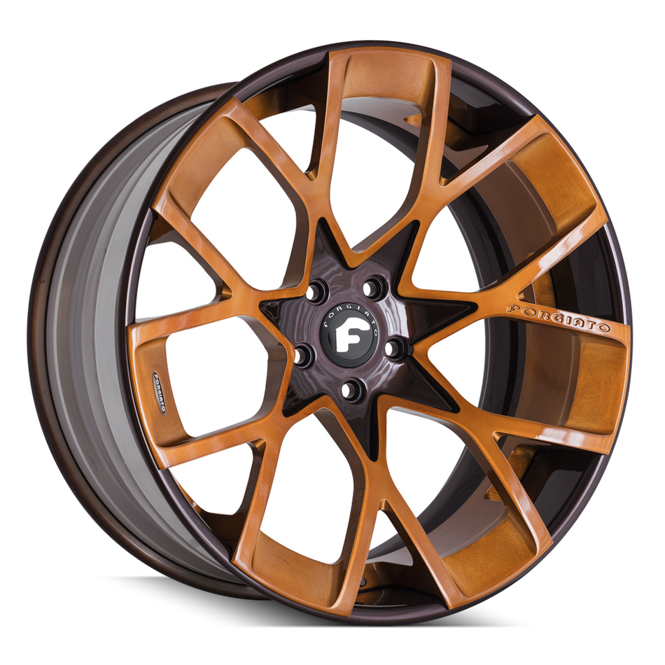 Forgiato Insetto-ECL Brown Finish Wheels