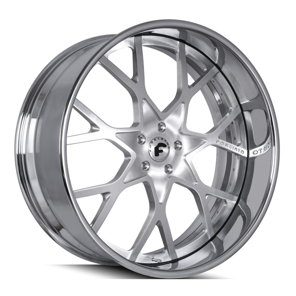 Forgiato Insetto Brushed Finish Wheels