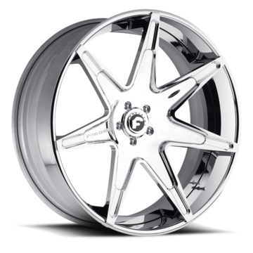 Forgiato Integliato-ECL Chrome Finish Wheels