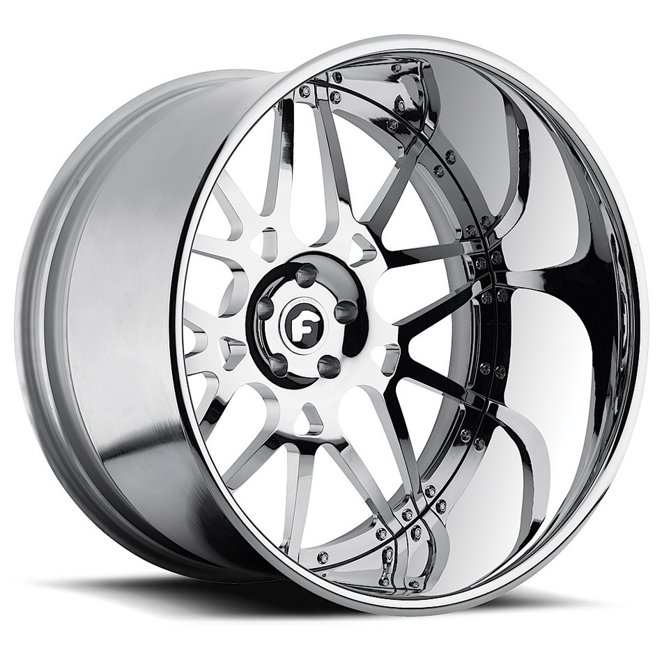 Forgiato Maglia Chrome Finish Wheels