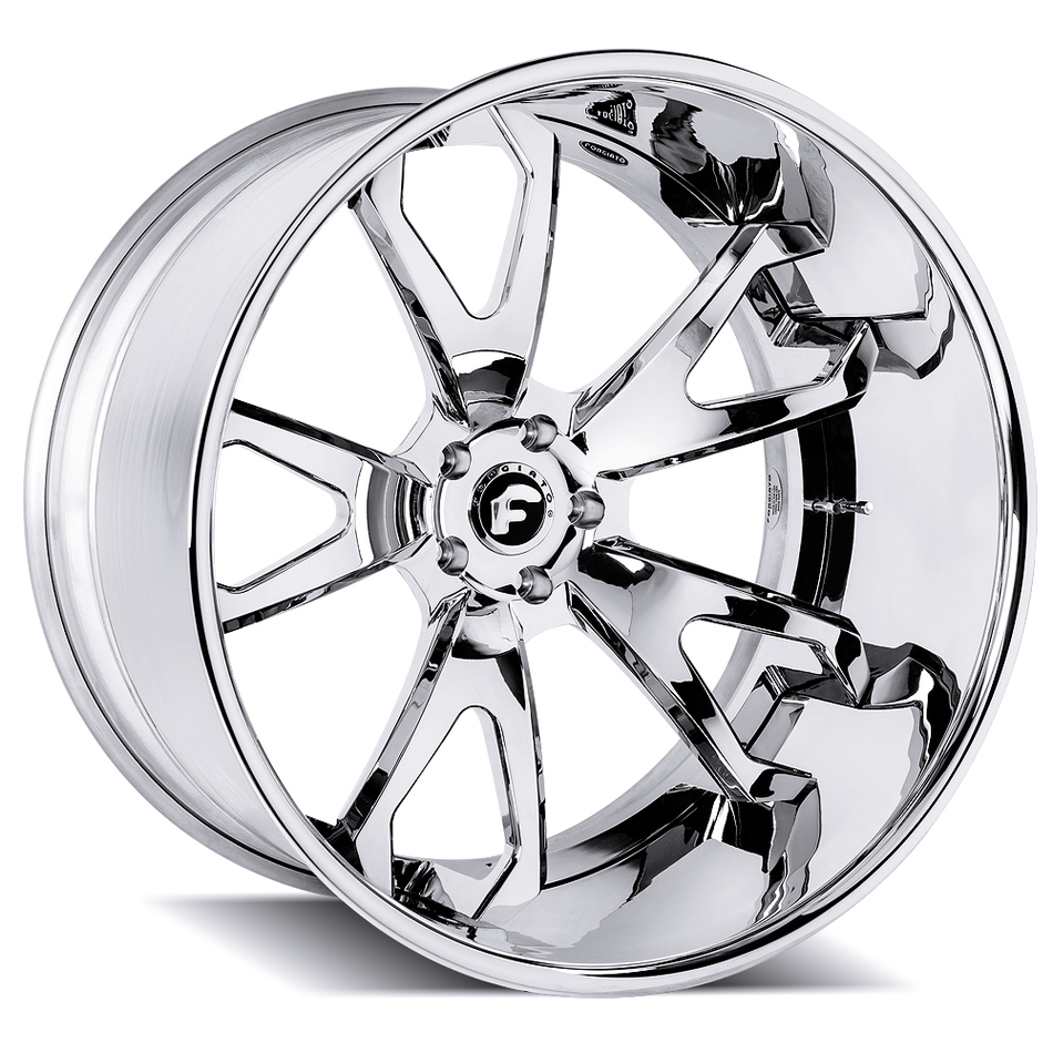 Forgiato Molluschi Chrome Finish Wheels