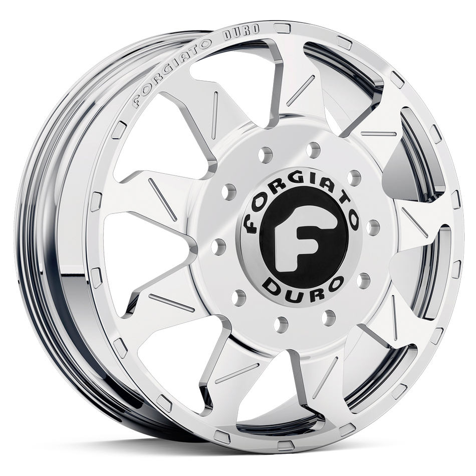 Forgiato Montagna Dually Chrome Finish Wheels